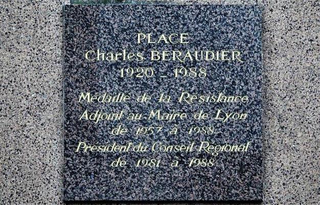 place Charles Béraudier Lyon 3ème
