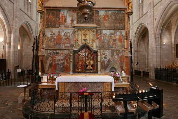 Le mausolée peint de St-Bertrand