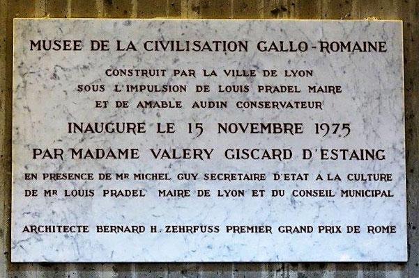 musée gallo-romain Lyon 5ème