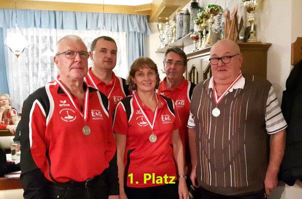 Hans Aigner, Günther Thalbauer, Hilde Wuppinger, Valentin Glück