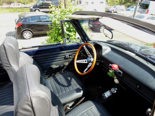 VW 1303 Cabrio - Innenansicht