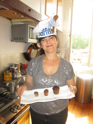 フランス家庭 パティシエ体験