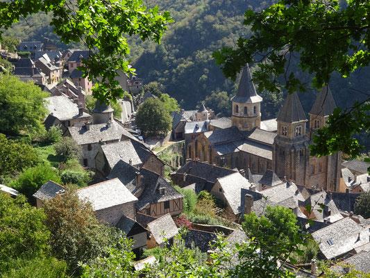 コンク フランスの最も美しい村 日本人ガイド