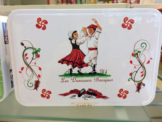 バスクのお土産 ガトーバスク