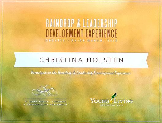 Bild: Raindrop Experience Sibenik Young Living