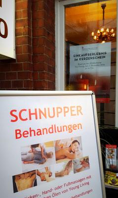 Bild: Stadtfest Winterhude Kokoro - Schnupperbehandlungen