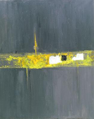 """""""Rissig"""" - Acryl auf Leinwand - 60 x 80 - 2017"""