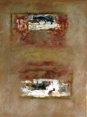 """""""Schichtungen II"""" - Acryl auf Leinwand - 60 x 80 - 2009"""
