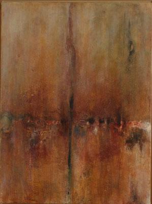 """""""Schichtungen I"""" - Acryl auf Leinwand - 60 x 80 - 2009"""