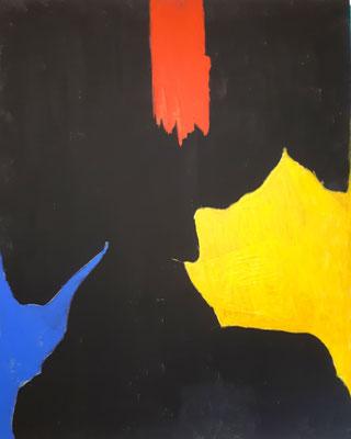 """Strebsam"" - Acryl auf Leinwand - 80 x 100 - 2019"