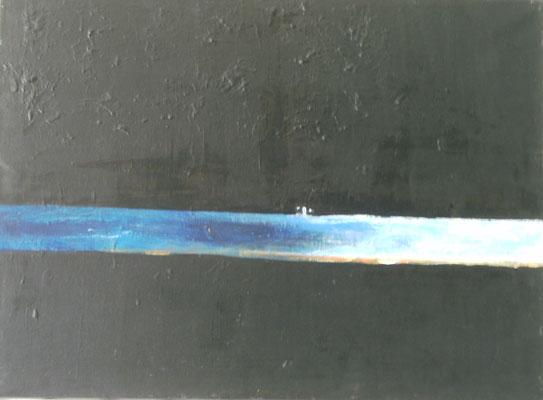 """Verloren"" - Acryl auf Leinwand - 80 x 60 - 2017"