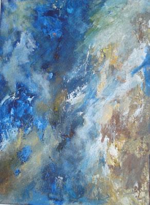 """""""Der Himmel I"""" - Acryl auf Leinwand - 60 x 80 - 2014"""