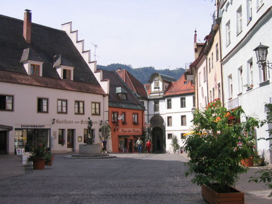 Stadtmitte Füssen