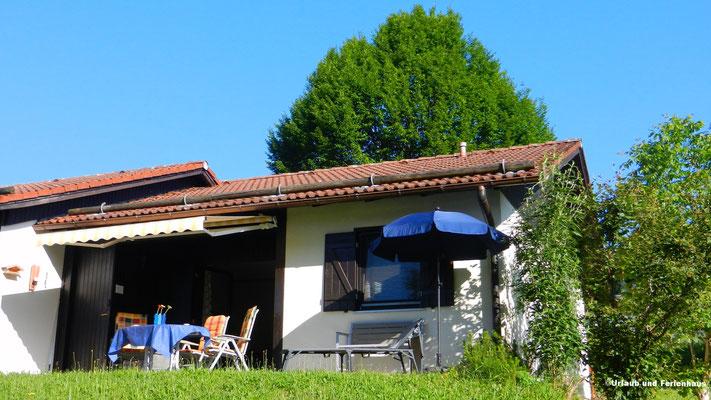 Ferienhaus 142 Terrasse