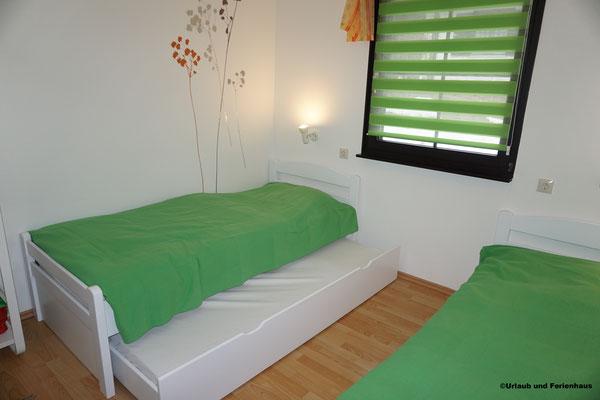 Ferienhaus 39 kleines Schlafzimmer