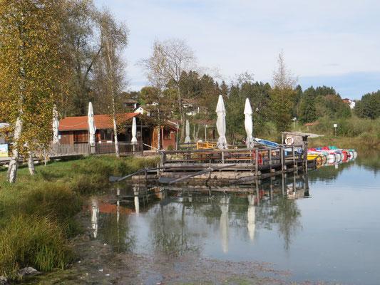 Kiosk am Bootshafen