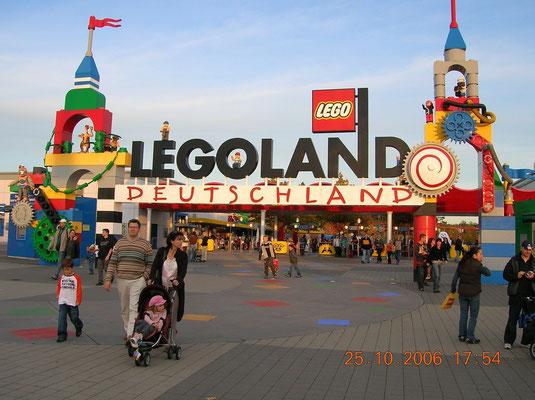 Tagesausflug ins Legoland