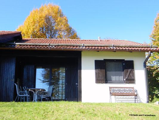 Terrassenansicht Haus 142