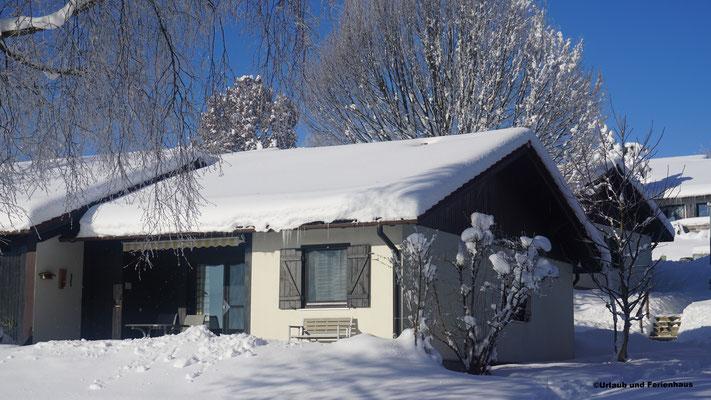 Haus 142 im Winter