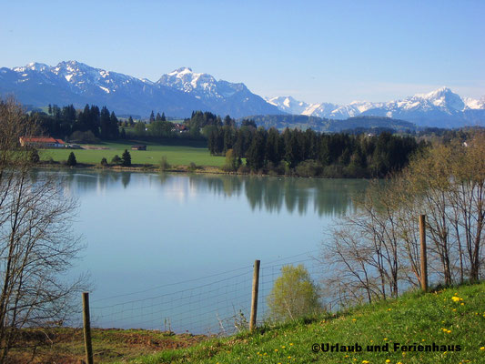 Lechsee in Lechbruck