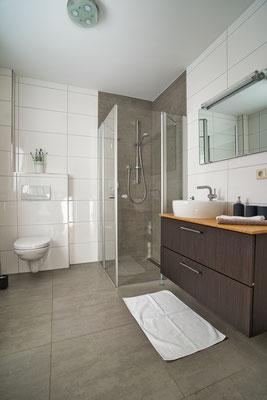 Badezimmer Ferienwohnung naehe Freiburg