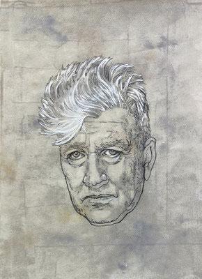 THE WICK-graphite et médium sur papier - 30x42 cm