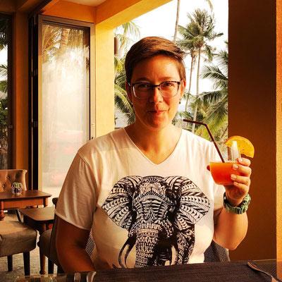 Jana auf Koh Chang in Thailand