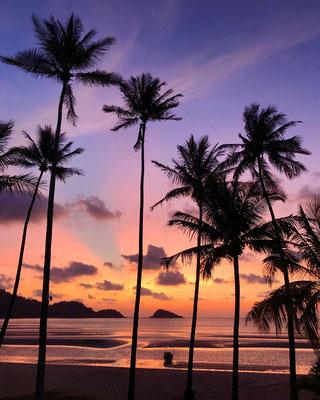 Sonnenuntergang auf Koh Chang / Thailand
