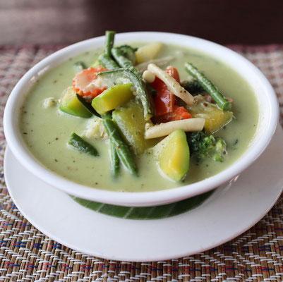 Green Curry - thailändisches Essen