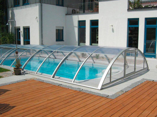 S&K GmbH Jacuzzi Whirlpool - Pool Überdachung komplett geschlossen