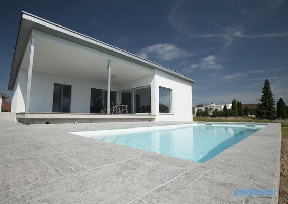 S&K GmbH Jacuzzi Whirlpool - Ein Pool im Boden eingelassen