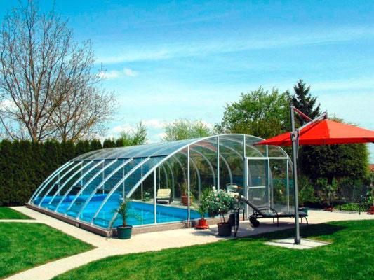 S&K GmbH Jacuzzi Whirlpool - Pool mit geschlossener Überdachung