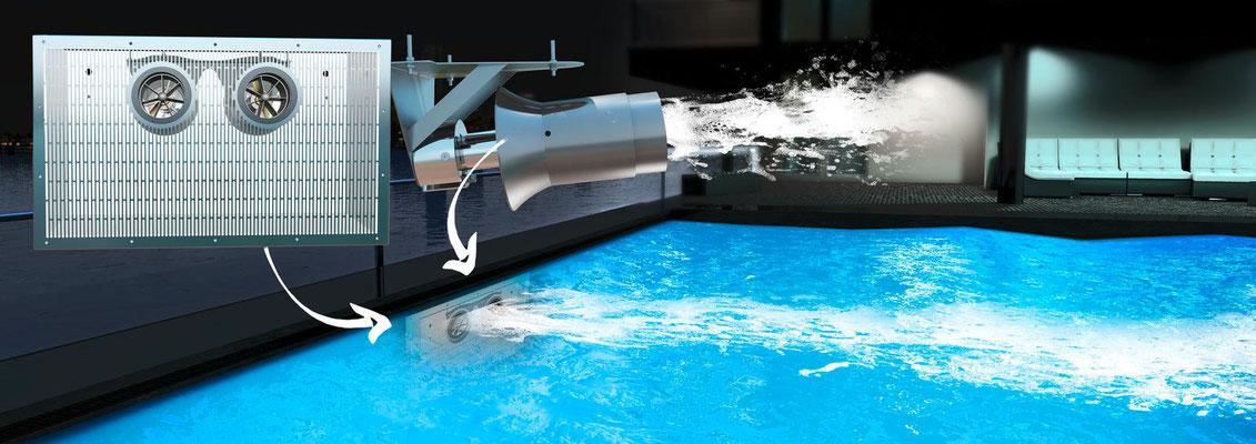 S&K GmbH Jacuzzi Whirlpool - Einbau einer Gegenstromanlage