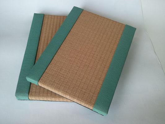 ミニ畳(mini tatami)№16・ダイケン清流亜麻色表