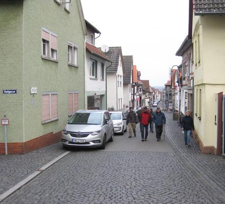Im Ortskern von Münzenberg sieht man sehr viel gut erhaltene Altbauten, vorwiegend Fachwerk.