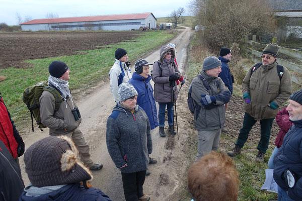 Matthias Möbs referiert über den Bergbau in Dorheim