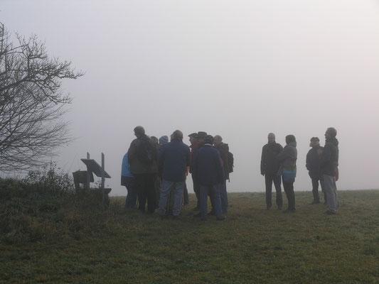 Der Nebel schafft eine besondere Atmosphäre.
