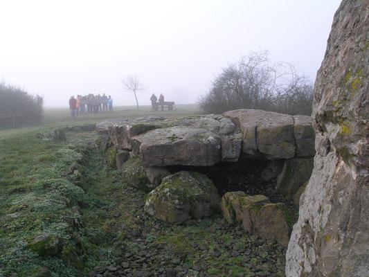 Wie wurden diese Steine vor 5000 Jahren bewegt?