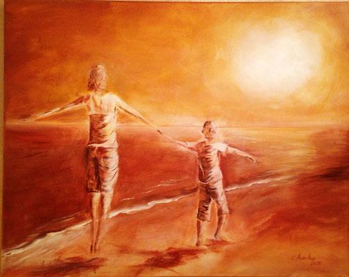 Der Sonne entgegen - 2015 - 115 x75cm