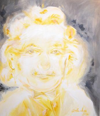 Relativ, ob Einstein oder Monroe, 2015, 80x1100cm