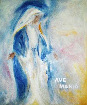 Ave Maria - 2015 - 100x120cm