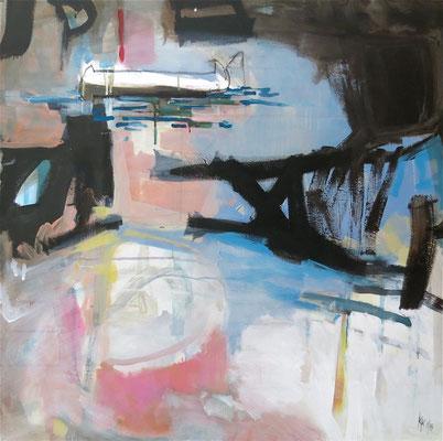Waterblooming - 2015 - 70 x 70 cm