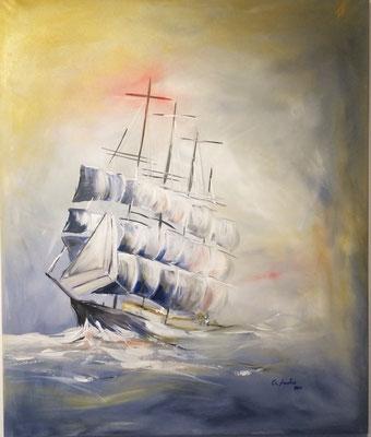 Es kommt ein Schiff geladen - 2015 - 100x120cm