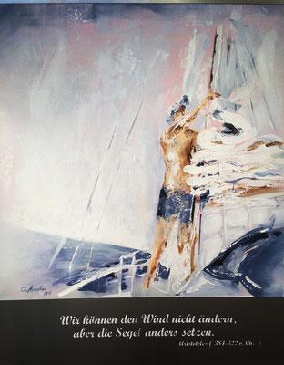 Rückenwind - 2015, 80x100cm