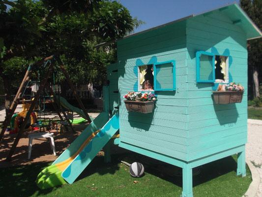 La cabane toboggan