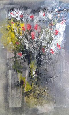 Le bouquet de l'artiste peintre Bernard Legros à Perpignan