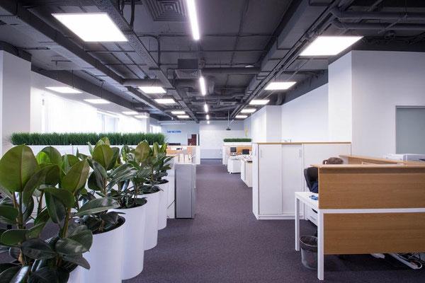 Линейные светильники | Установка и монтаж линейных светильников  под ключ по Москве и Московской области
