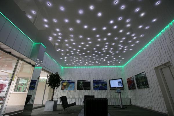 Натяжные потолки «Звёздное небо» в Москве | купить потолки «Звёздное небо»