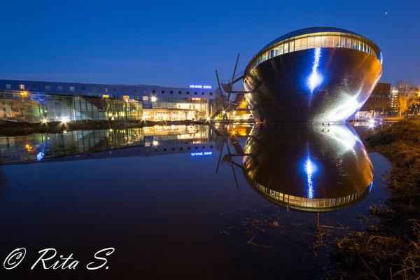 Das UNIVERSUM nahe der Bremer Universität