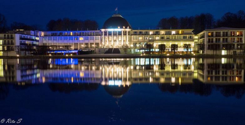 Parkhotel Bremen zur Blauen Stunde